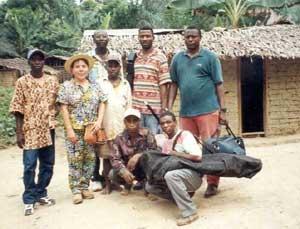 Le personnel travaillant au Fondaf